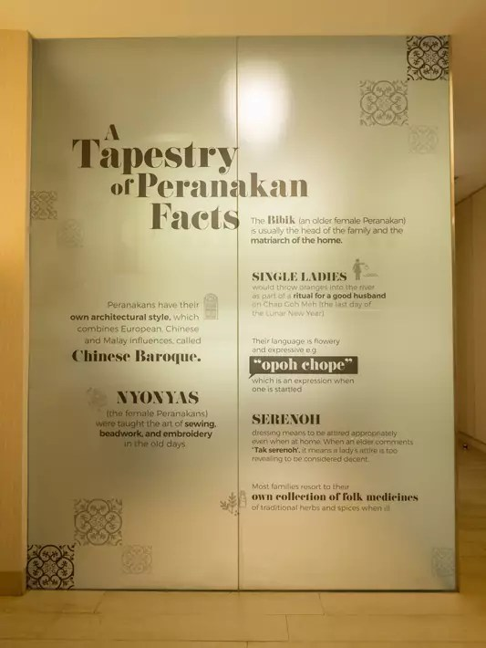 Village Katong Hotel's Made-In-Singapore peranakan facts