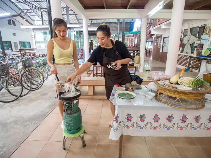 local thai cooking, Day trips from Bangkok -Amphawa Floating Market, Maeklong Railway Market, Ban Bang Phlap