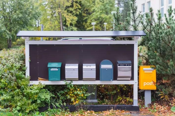 post box, Nuuksio National Park