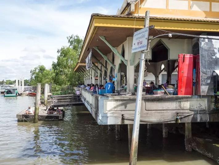 samut songkhram, Day trips from Bangkok -Amphawa Floating Market, Maeklong Railway Market, Ban Bang Phlap