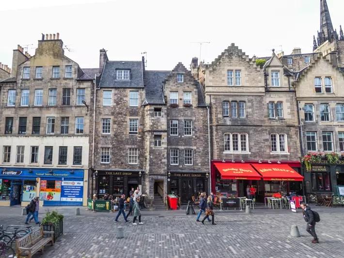shops, edinburgh ghost tours old town, scotland
