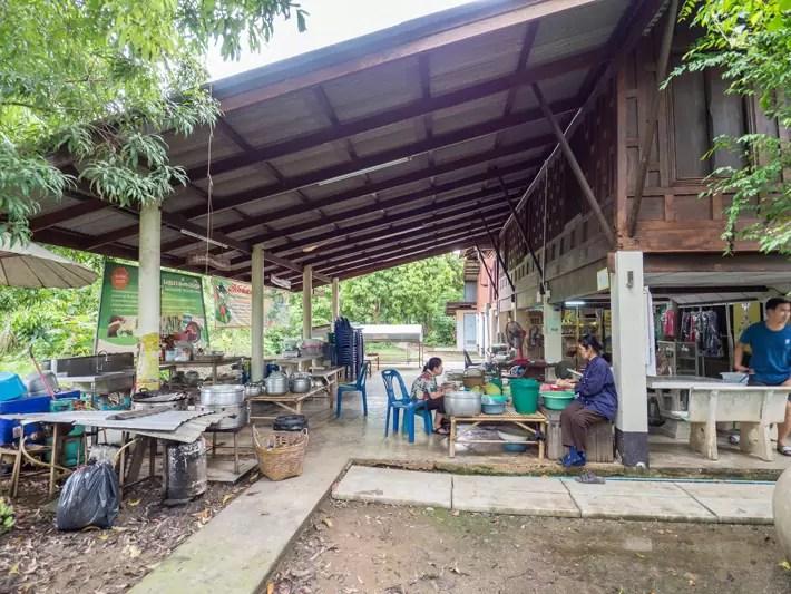 thai village, Day trips from Bangkok -Amphawa Floating Market, Maeklong Railway Market, Ban Bang Phlap