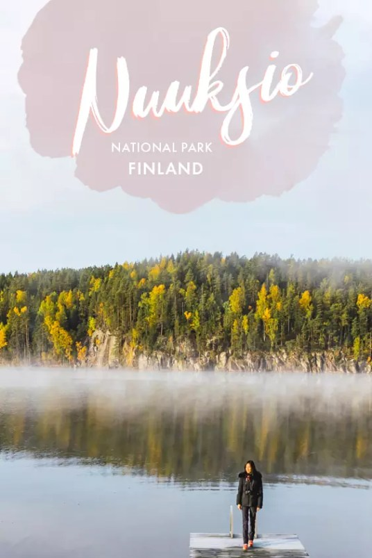 Beauty of Finland's Nuuksio National Park during autumn in pictures. Come on a visual journey through these pictures! #Finland #Nuuksio #NationalPark #Helsinki #Autumn