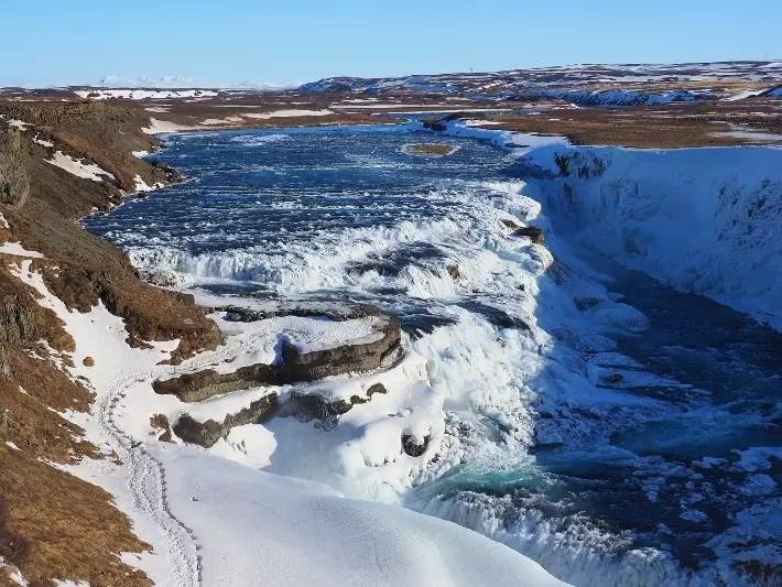 Gullfoss waterfall, Day Trips from Reykjavik, Iceland