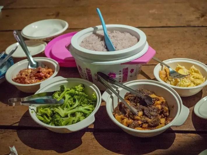 local homestay dinner, bhutan