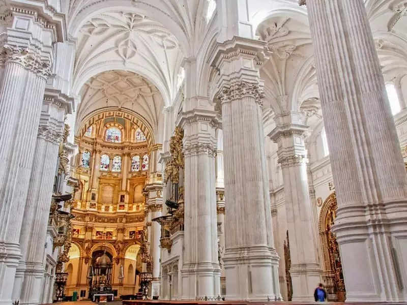Architecture Gothic Renaissance Classical Royal Chapel Ferdinand Isabella Resting Place Granada Spain Royalty History