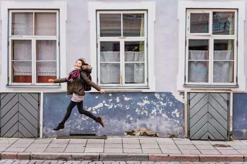 street girl walk, Things to do in Tallinn, Estonia