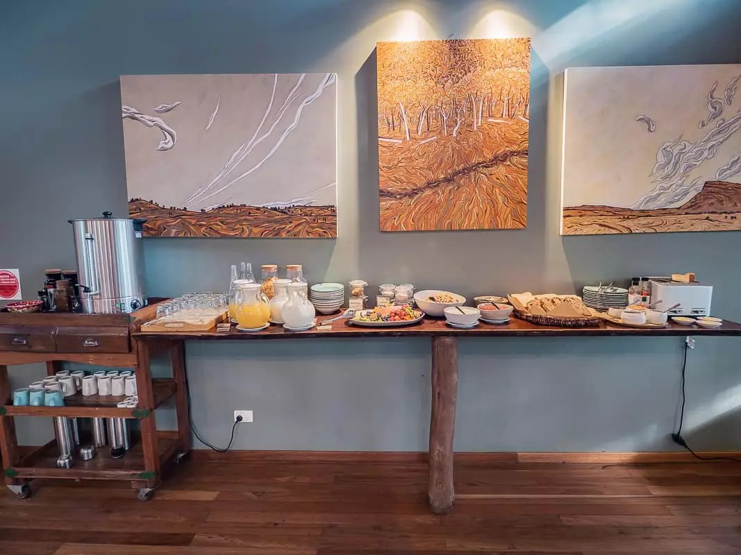 Paperbark-Camp-Jervis-Bay-Australia-Review-breakfast-buffet