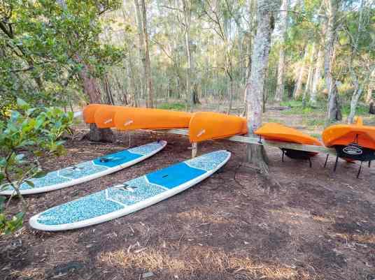 Paperbark-Camp-Jervis-Bay-Australia-Review-kayak-surf