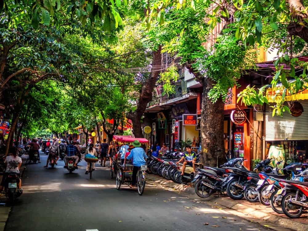 Street in Hanoi Old Quarter, 15-Day Vietnam-Cambodia Itinerary 1