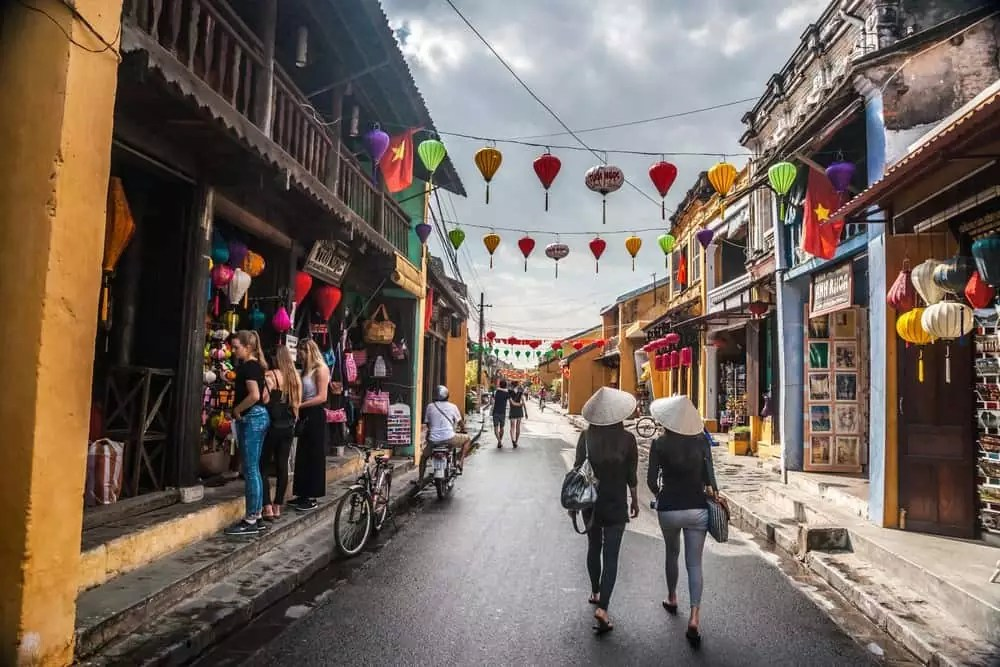 streets in Hoi An, 15-Day Vietnam-Cambodia Itinerary 7