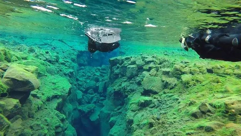 Snorkelling the Rift Valley, 48 hours in reykjavik, iceland