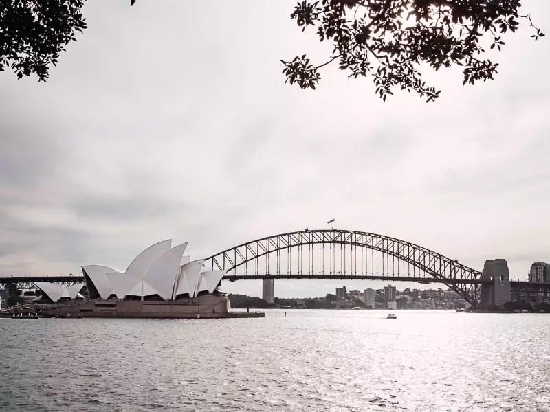 Sydney Opera House, Harbour Bridge, Sydney-Australia