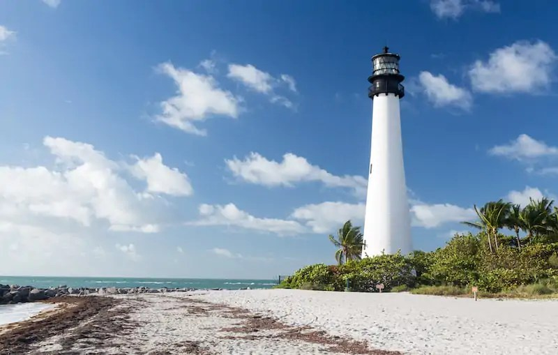 Key Biscayne Lighthouse, Best Neighborhoods In Miami, Florida, USA