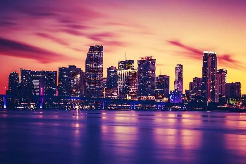 Miami Skyline, Best Neighborhoods In Miami, Florida, USA