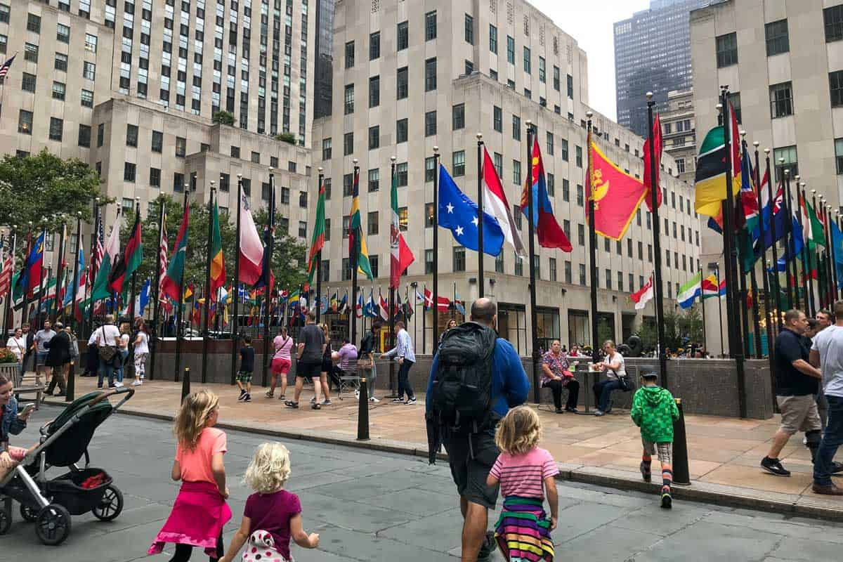 Visit Rockefeller Center, 24 hours in nyc, new york city in a day, one day in nyc