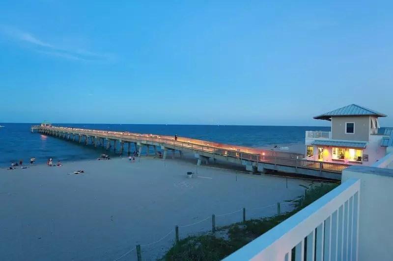Deerfield Beach Pier - Fort Lauderdale, florida