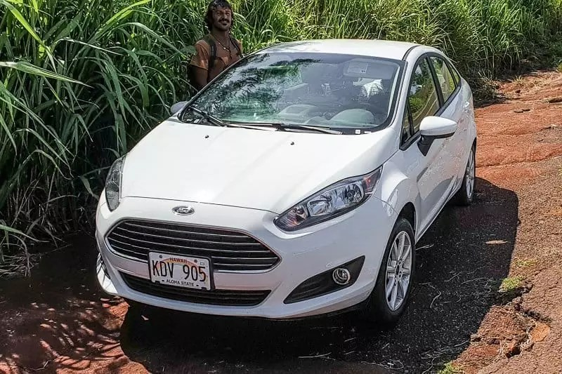 Rent car in Kauai, Hawaii