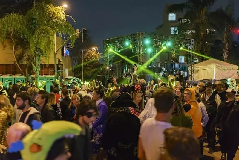 West Hollywood Halloween Carnival Los Angeles