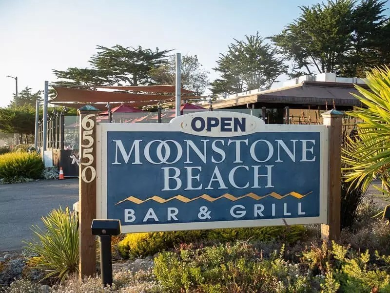 moonstone beach, What-to-eat-in-Cambria-California-USA