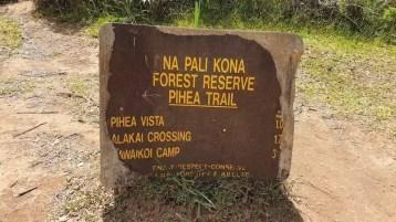pihea trail start, best hikes in kauai, hawaii