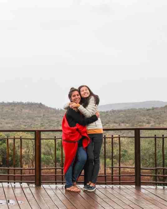 Girl friends, Thanda Safari, South Africa