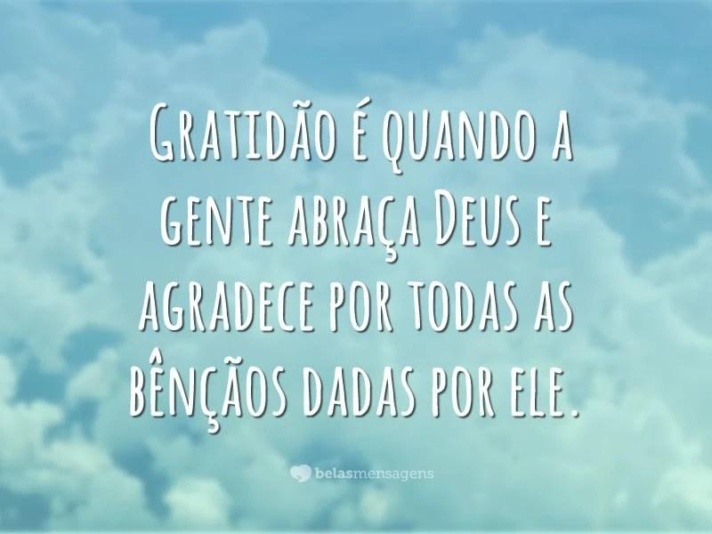 Frases Agradecimento De Deus