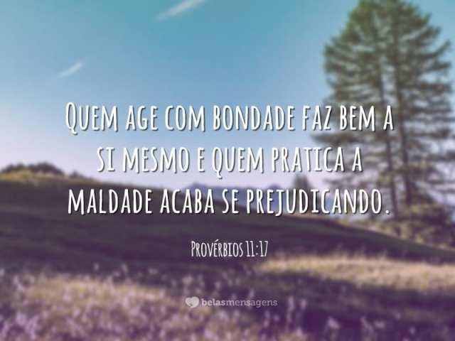 Provérbios 11:17