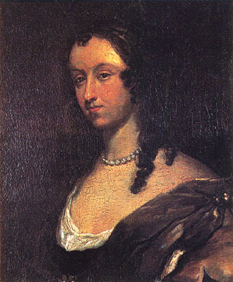 Aphra Behn, portrait by Mary Beale