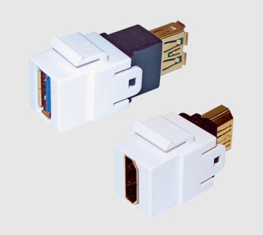 connectors multimedia modules