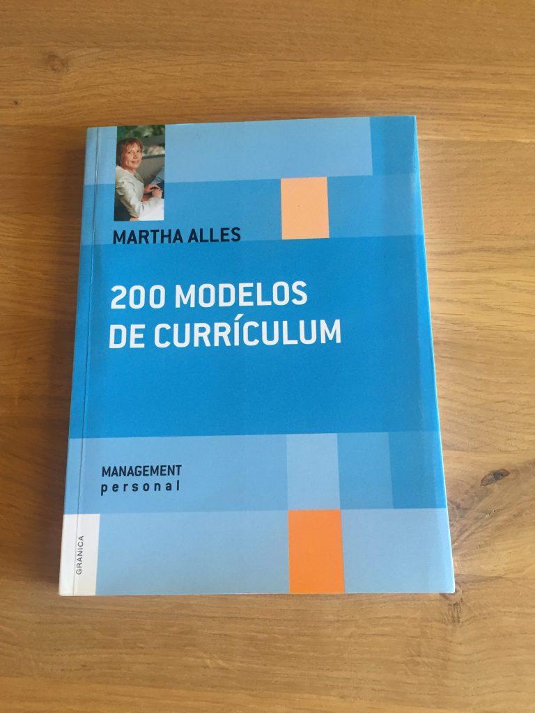 Libro 200 modelos de CV