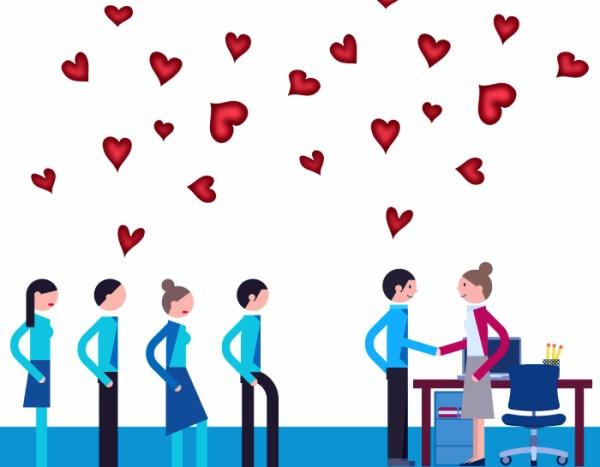 enamorar candidatos