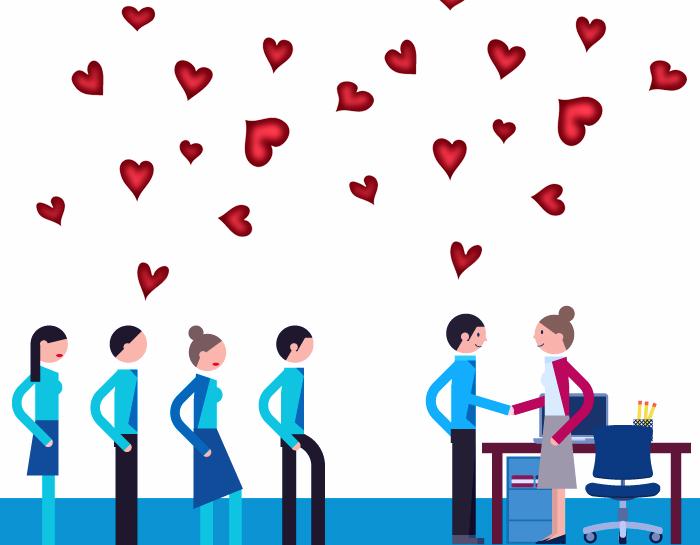 Cuando el candidato es el cliente, enamora a tus candidatos