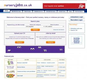 nursery Jobs