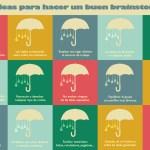 Infografía: 15 ideas para hacer un buen brainstorming