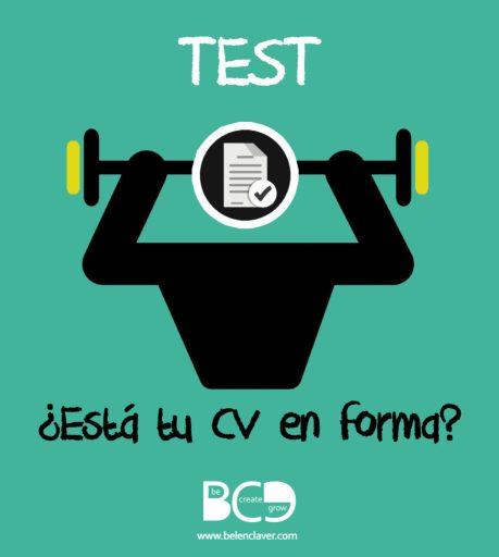 Test: ¿Está tu CV en forma? Evaluando su formato.