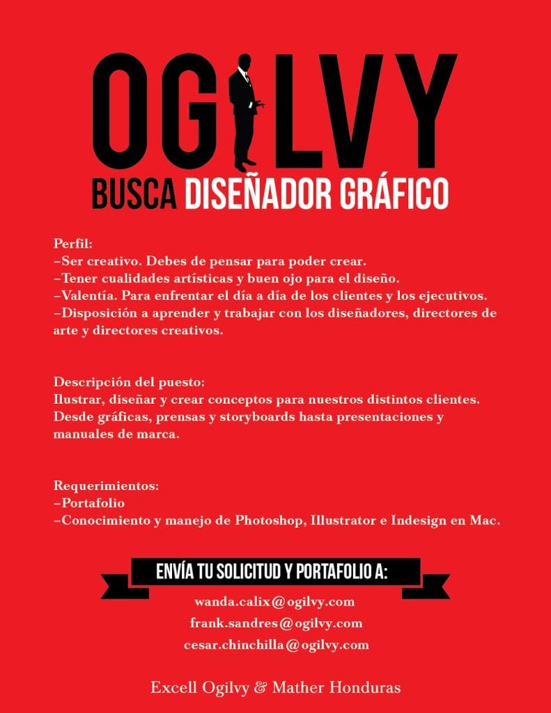Modelo anuncio oferta empleo Ogilvy