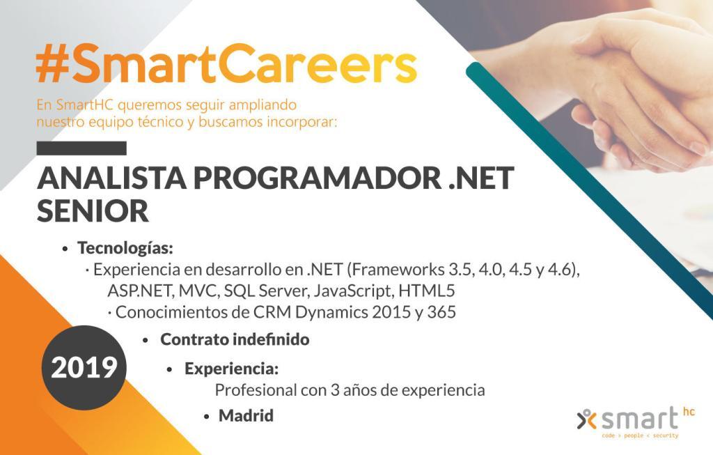 Modelo anuncio oferta empleo Smart Human