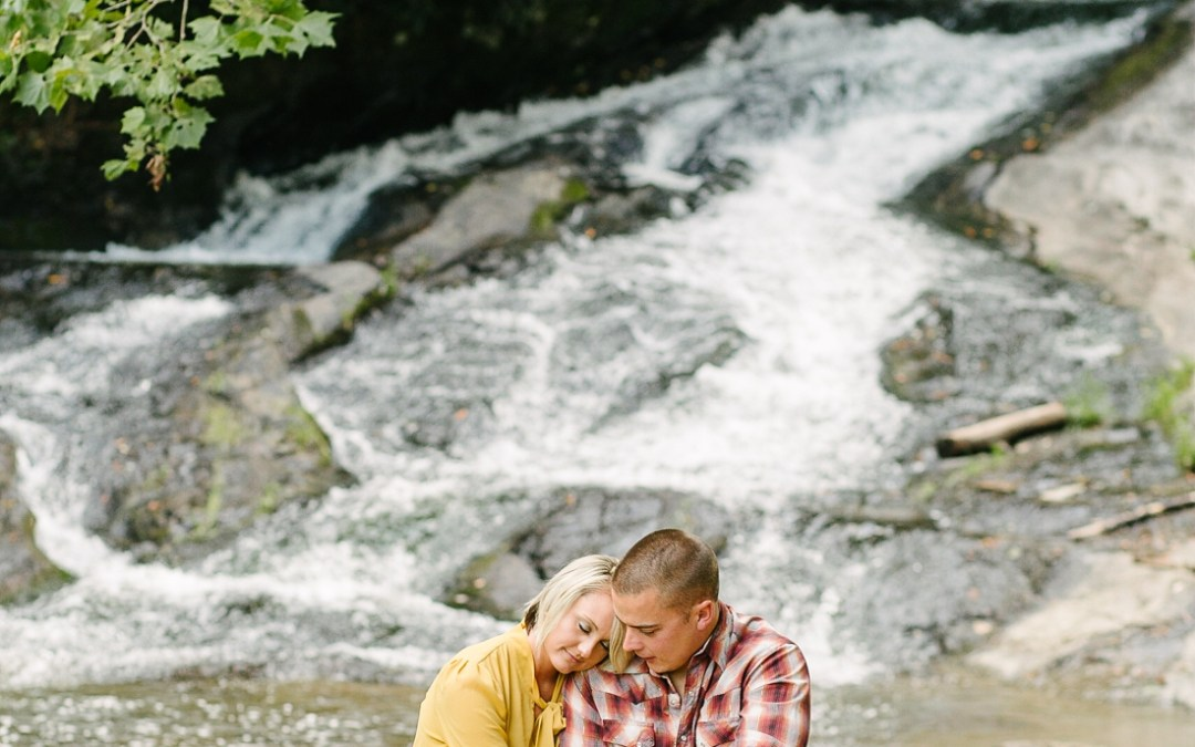 Chris+Erin // Galax Virginia Engagement Photographer