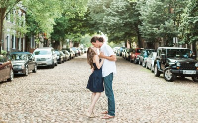 Chris and Haley | Old Town Alexandria Engagement Photographer