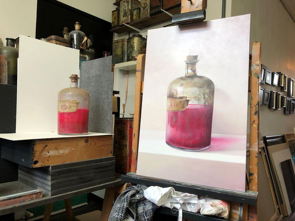 Interview met kunstschilder Robert Daalmeijer | het werk van Robert Daalmeijer in galerie De Duig in Vlaardingen | beleveninvlaardingen.nl