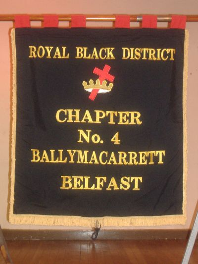 No. 4 Royal Black District Bannerette
