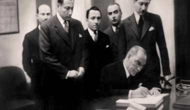 Gazi Mustafa Kemal Atatürk'ün son yolculuğu