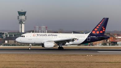 صورة انهيار شامل في خطوط بروكسل الجوية