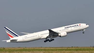 صورة صحفية تكشف عن حالة مقلقة في احدى الطائرات التابعة لاير فرانس