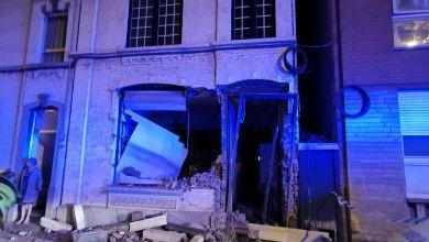 صورة حادث مروع مساء الجمعة في Montignies-sur-Sambre