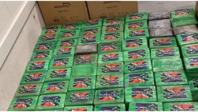 صورة اكتشف ما يقرب من طن ونصف من الكوكايين في أنتويرب