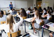 صورة الدراسة بشكل جزئي لجميع المدارس الفلمنكية يوم الاثنين ، 19 أبريل