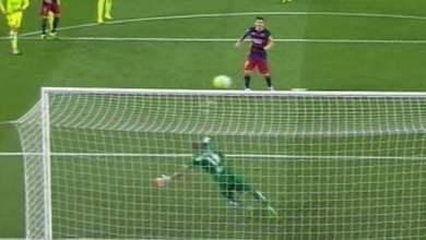 Photo of فيديو: ميسي يهدر ركلة جزاء في لقاء برشلونة و ليفانتي