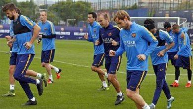 Photo of تدريبات برشلونة لمواجهة فالنسيا تشهد غياب ماتيو
